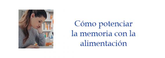 Potencia tu memoria con la alimentación